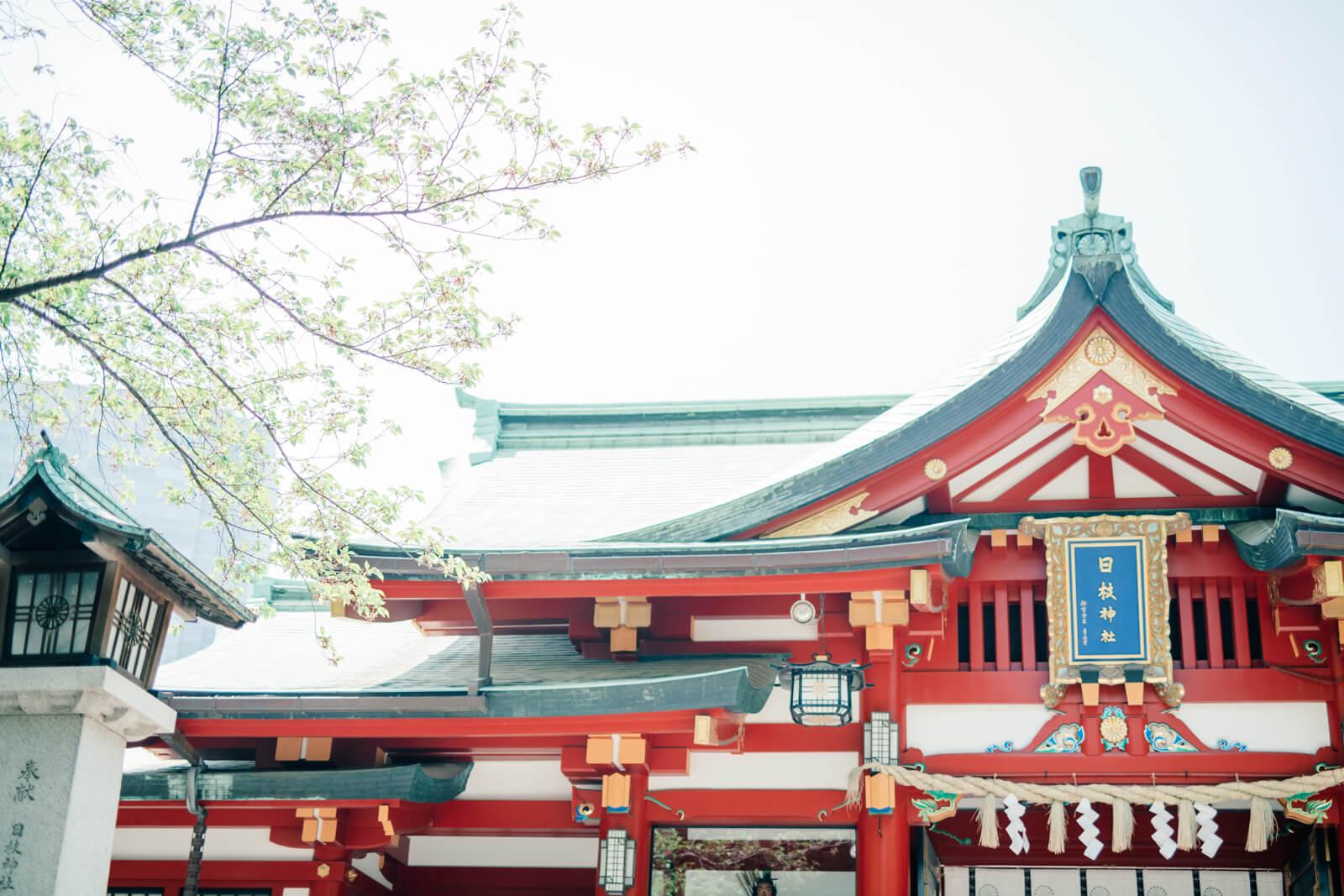 日枝神社 七五三 お宮参りの出張撮影