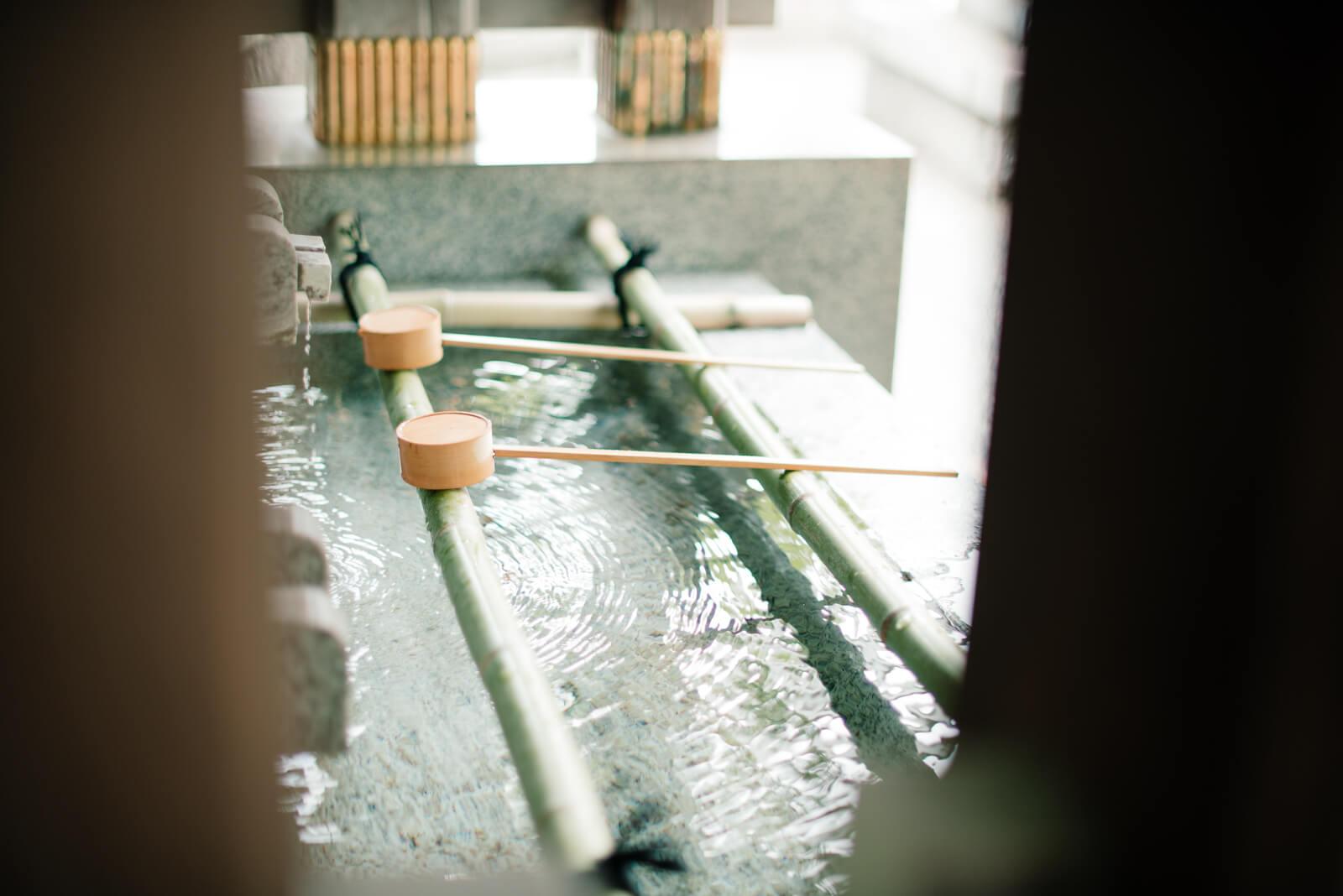 王子神社 手水舎