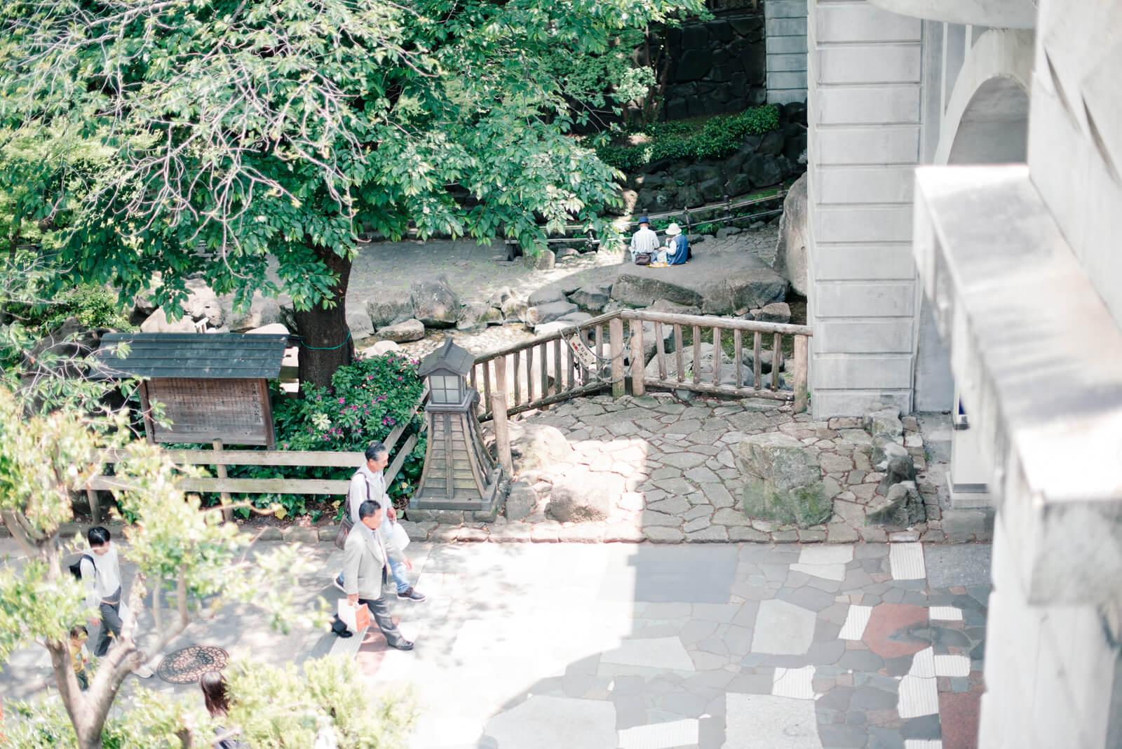 王子神社 緑道